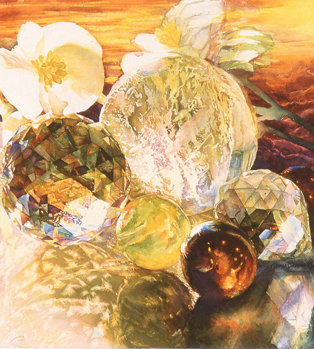 Cochrane, Marilyn Blumer, 2001, Crystal Glow, 39x42