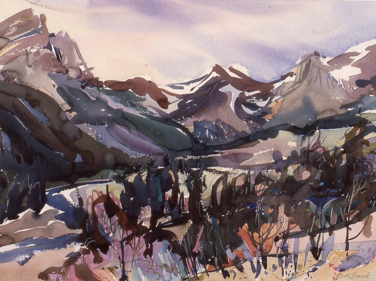 Laycock, Brent, 1978, Red Rock Valley, 67x87