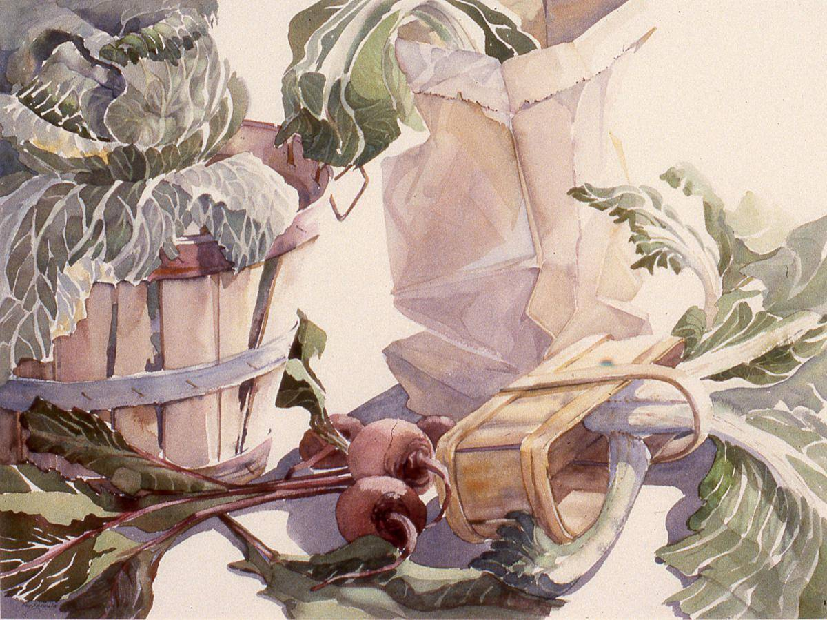 Sproule, Fay, 1990, Who Wants Beet Tops, 65x81