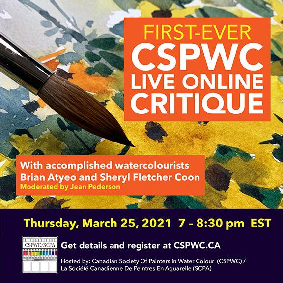 Workshop - First ever live online critique