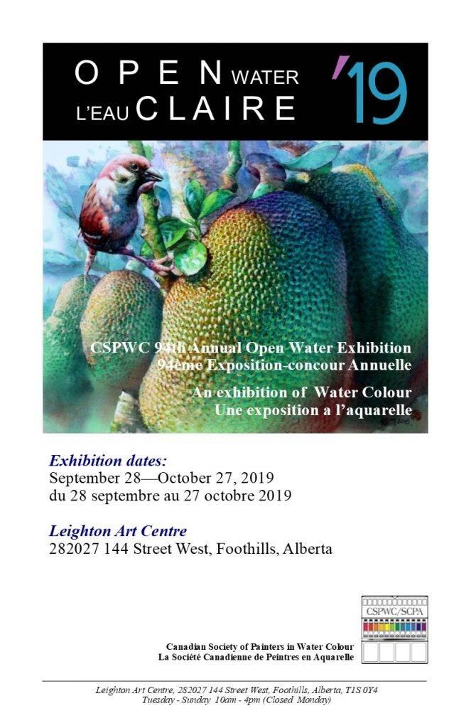 Open Water L'eau Claire 2019 Catalogue