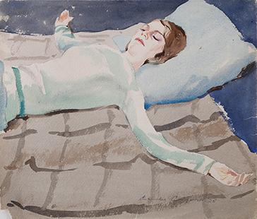 Comfort, Charles, 1926, Bess Ayres, 46x52