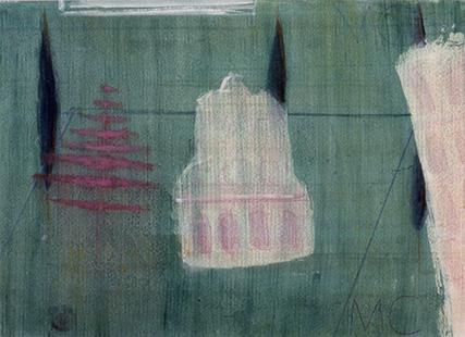 Critoph, Mark, 1989, Piazza Dei Miracoli, 70.5x91