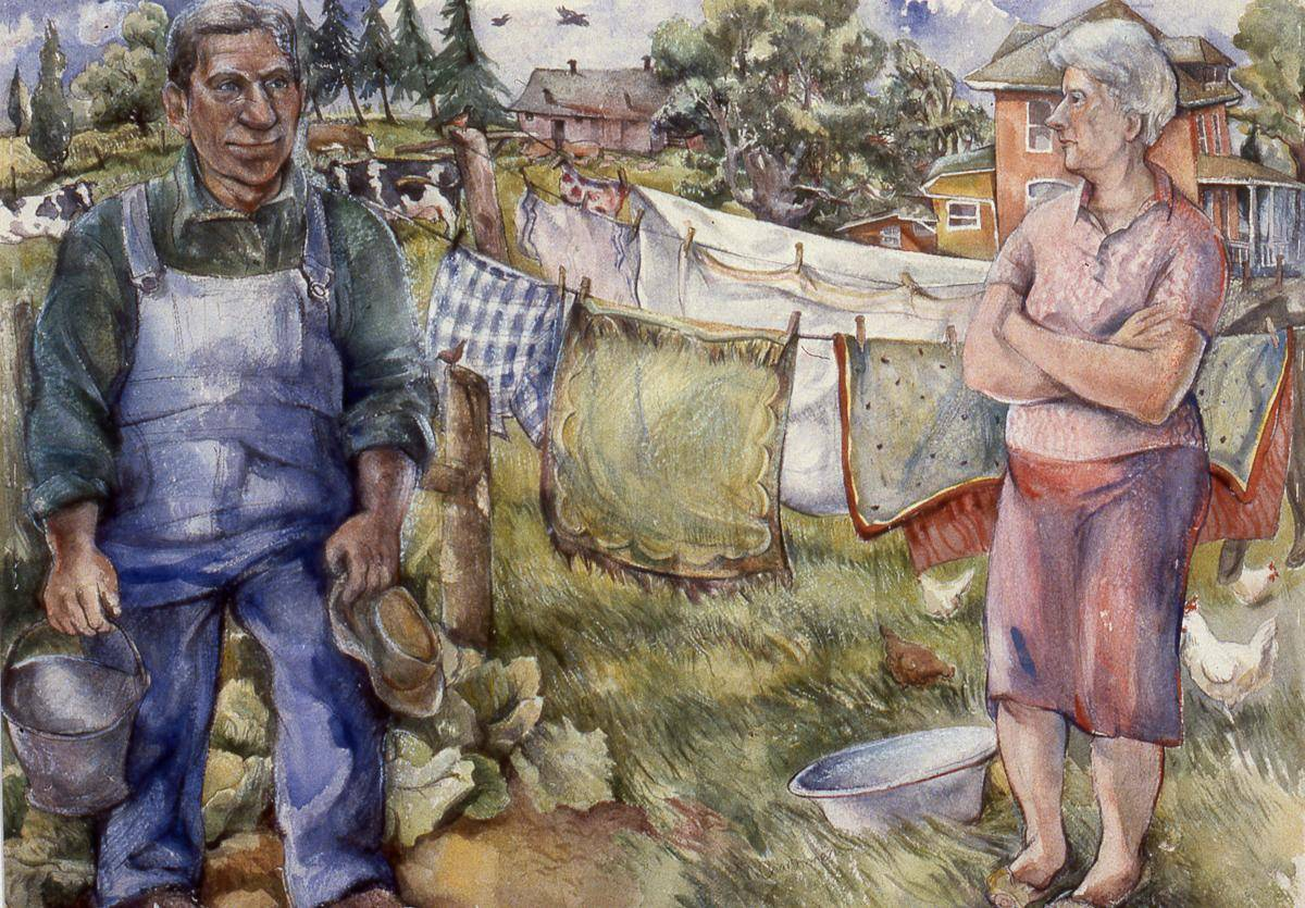 Charbonneau, Marie, 1990, Pictures From a Family Farm, 76x99