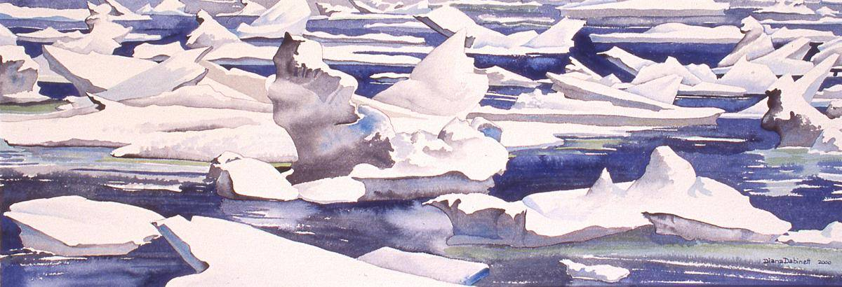 Dabinet, Diana, 2000, Frozen North Ice Pack, 28x75