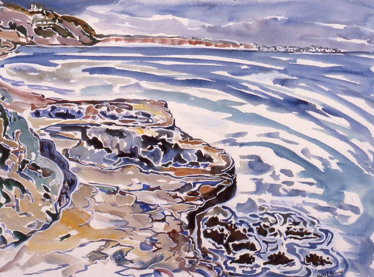Harvey, Hazel, 1989, Algarve Coast, 73x93