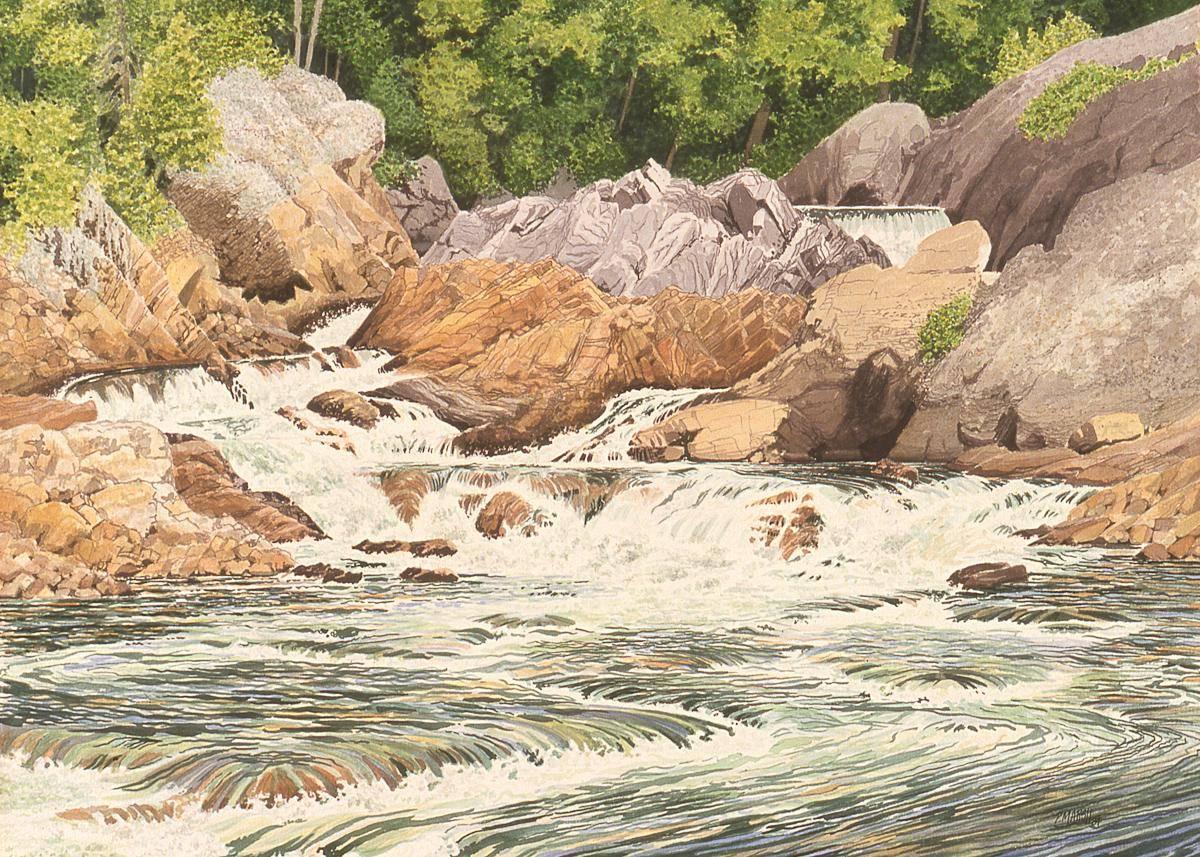 Marsh, Peter, 1997, Chippewa Falls, 45x61