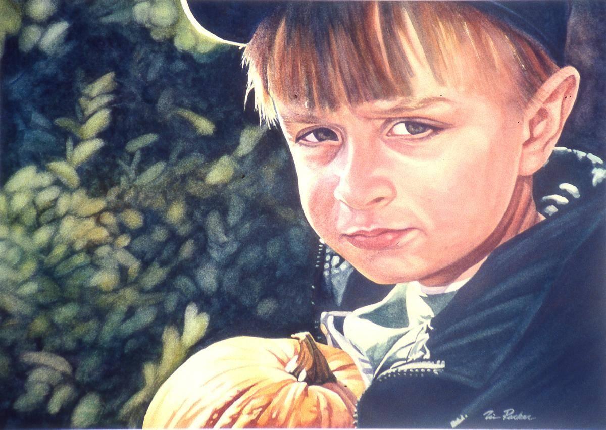 Packer, Tim, 1999, Prized Pumpkin II, 75x52