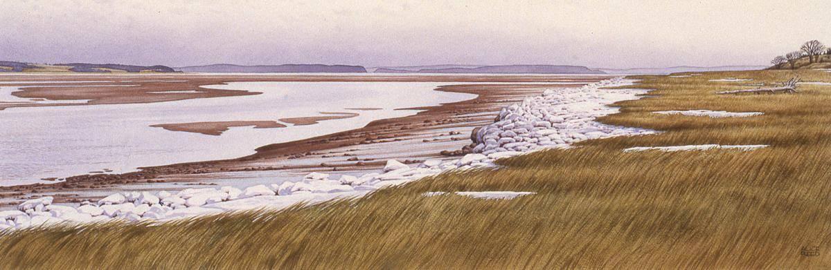 Reed, Alice, 1993, Winter Tide, 44x87
