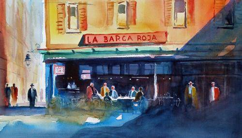 Aeyelts, Frans, 2011, La Barca Roja, 11x19.5