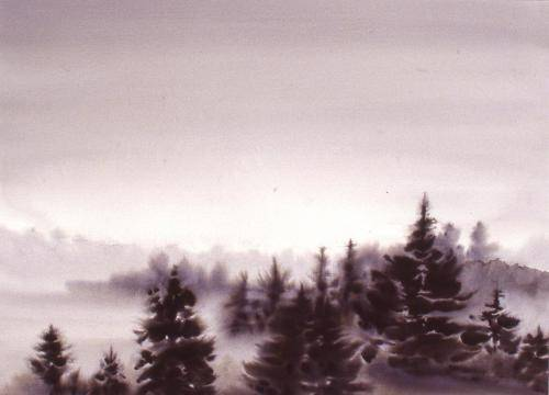 Barker, Hi Sook, 2000, One Misty Morning, 81x101