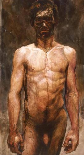 Barkley, Daniel, 2001, Untitled Male Nude, 71x40