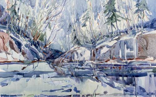 Cadman, David, 1992, Pickle Jar Lake, 89x120