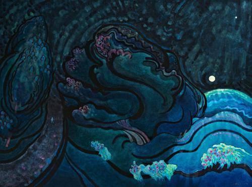 Inglis-John-1-Night-Journey-with-the-Moon-Venus-2004